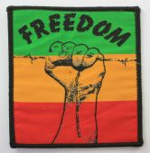 Rasta - 'Freedom' Vintage Woven Patch